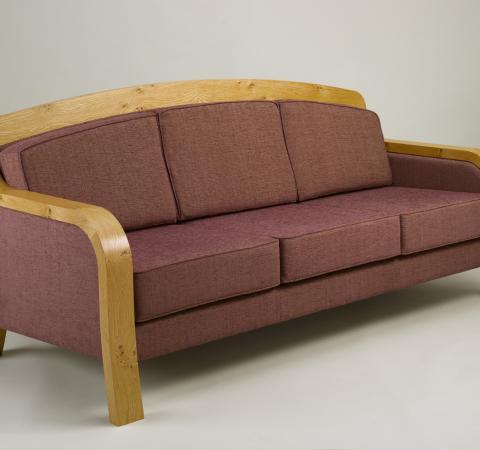Bespoke Pippy Oak sofa by Ali Young Oxford